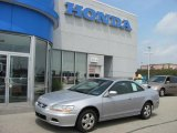 2002 Satin Silver Metallic Honda Accord EX Coupe #34095143