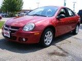2003 Blaze Red Crystal Pearl Dodge Neon SXT #34094900