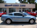 2006 Windveil Blue Metallic Ford Mustang V6 Deluxe Coupe #34095459