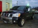 2007 Galaxy Black Nissan Titan LE Crew Cab 4x4 #3405636