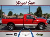 2002 Flame Red Dodge Ram 1500 SLT Regular Cab 4x4 #34094931