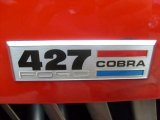 Shell Valley 427 Cobra Replica Badges and Logos