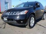 2005 Super Black Nissan Murano S AWD #3405719