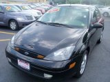 2004 Pitch Black Ford Focus ZTS Sedan #34095005