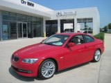 2011 Crimson Red BMW 3 Series 335i Coupe #34095529