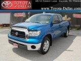 2007 Blue Streak Metallic Toyota Tundra SR5 Double Cab #34095038