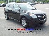 2010 Black Granite Metallic Chevrolet Equinox LT #34095602