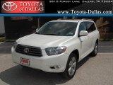 2010 Blizzard White Pearl Toyota Highlander Sport #34095076