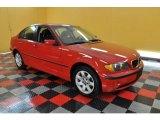 2003 Electric Red BMW 3 Series 325xi Sedan #34095617