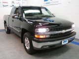 2002 Onyx Black Chevrolet Silverado 1500 LT Extended Cab 4x4 #34095640