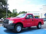 2010 Vermillion Red Ford F150 XL Regular Cab #34095110