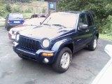 2002 Patriot Blue Pearlcoat Jeep Liberty Limited 4x4 #34167676