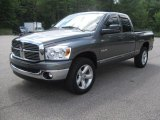 2008 Mineral Gray Metallic Dodge Ram 1500 Big Horn Edition Quad Cab 4x4 #34168512