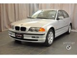 2001 Titanium Silver Metallic BMW 3 Series 325xi Sedan #34167695