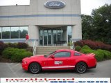2011 Race Red Ford Mustang Shelby GT500 SVT Performance Package Coupe #34167718