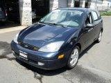 2003 Twilight Blue Metallic Ford Focus ZX5 Hatchback #34168624