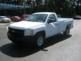 Summit White Chevrolet Silverado 1500 in 2010