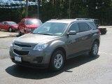2010 Mocha Steel Metallic Chevrolet Equinox LT #34168671