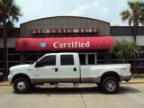 2005 Oxford White Ford F350 Super Duty Lariat Crew Cab 4x4 Dually #34167827