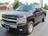 2009 Dark Cherry Red Metallic Chevrolet Silverado 1500 LT Extended Cab 4x4 #34168742