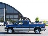 1999 Indigo Blue Metallic Chevrolet Silverado 1500 LS Extended Cab 4x4 #34242618