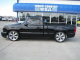 2004 Black Chevrolet Silverado 1500 LS Regular Cab #34242628