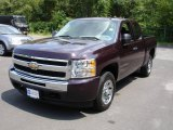 2009 Dark Cherry Red Metallic Chevrolet Silverado 1500 LS Extended Cab #34241776