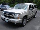 2006 Silver Birch Metallic Chevrolet Silverado 1500 LT Extended Cab 4x4 #34241780