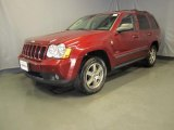 2008 Red Rock Crystal Pearl Jeep Grand Cherokee Laredo 4x4 #34242394