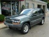 2002 Onyx Green Pearlcoat Jeep Grand Cherokee Laredo 4x4 #34242398