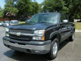 2004 Dark Gray Metallic Chevrolet Silverado 1500 LS Extended Cab 4x4 #34242110