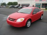 2007 Victory Red Chevrolet Cobalt LS Coupe #34242429