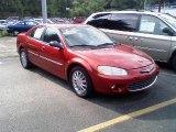 2003 Chrysler Sebring Deep Lava Red Metallic