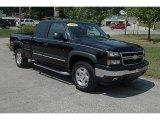 2007 Black Chevrolet Silverado 1500 Classic Z71 Extended Cab 4x4 #34242788