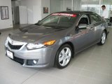 2010 Polished Metal Metallic Acura TSX Sedan #34242464