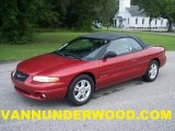 1999 Chrysler Sebring Inferno Red Pearl
