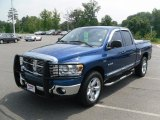2008 Electric Blue Pearl Dodge Ram 1500 Lone Star Edition Quad Cab #34242813
