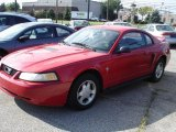 1999 Rio Red Ford Mustang V6 Coupe #34242523