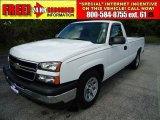 2006 Summit White Chevrolet Silverado 1500 Work Truck Regular Cab #34242859