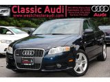 2008 Deep Sea Blue Pearl Effect Audi A4 2.0T quattro Sedan #34242540