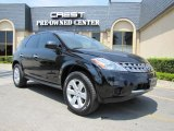 2007 Super Black Nissan Murano S #34242572