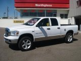 2007 Bright White Dodge Ram 1500 Big Horn Edition Quad Cab 4x4 #34241983