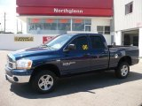 2006 Patriot Blue Pearl Dodge Ram 1500 SLT Quad Cab 4x4 #34241990
