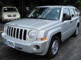 2007 Bright Silver Metallic Jeep Patriot Sport 4x4 #34242957
