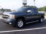 2010 Blue Granite Metallic Chevrolet Silverado 1500 LT Crew Cab 4x4 #34242280