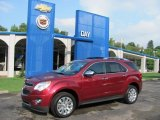 2010 Cardinal Red Metallic Chevrolet Equinox LTZ AWD #34242029