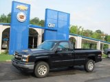 2006 Dark Blue Metallic Chevrolet Silverado 1500 Regular Cab 4x4 #34242034
