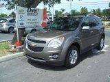 2010 Mocha Steel Metallic Chevrolet Equinox LTZ #34319870