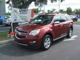 2010 Cardinal Red Metallic Chevrolet Equinox LT #34319871