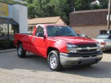 2005 Victory Red Chevrolet Silverado 1500 Regular Cab 4x4 #34320188